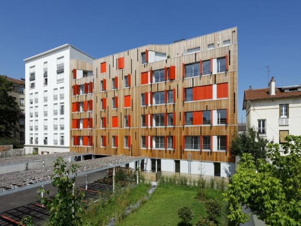 Réalisation en janvier 2017 de 20 logements à Pantin (Seine-Saint-Denis)