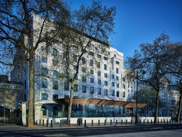 Réalisation en 2017 du nouveau siège de Scotland Yard à Londres