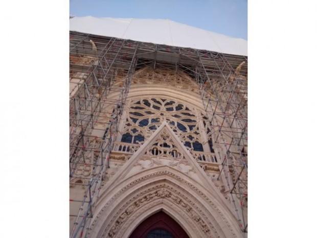 Restauration de la Sainte-Chapelle, Vincennes