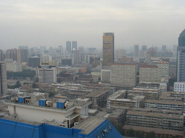Vue de Taiyuan (Chine)