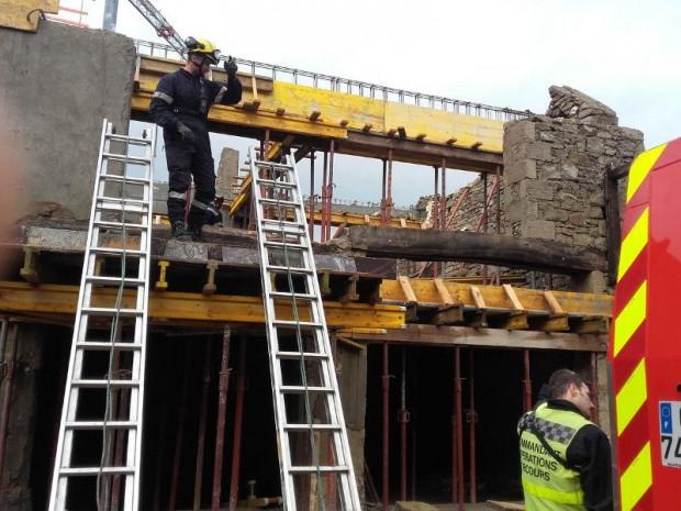 Accident chantier de rénovation