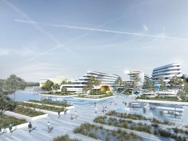 Europa City : Hôtel du parc aquatique