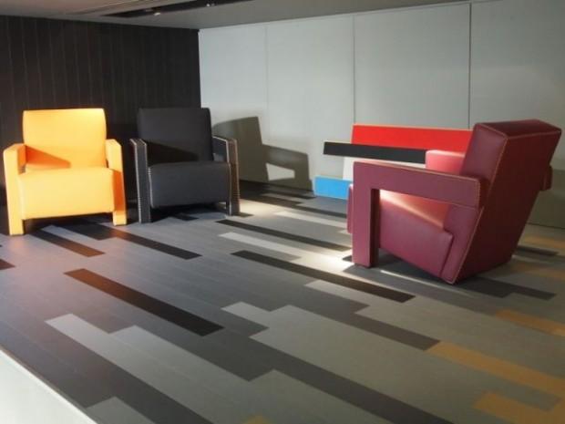 Les couleurs sont celles de Le Corbusier