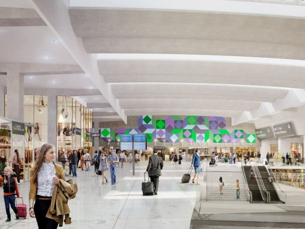 Gare de Paris-Montparnasse 2020 - Hall Vasarely