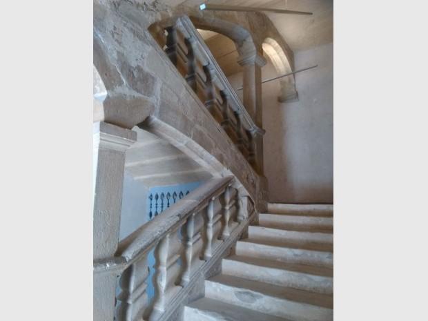Escalier d'honneur musée Lodève