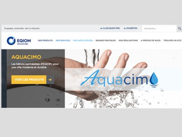 Site EQIOM Bétons