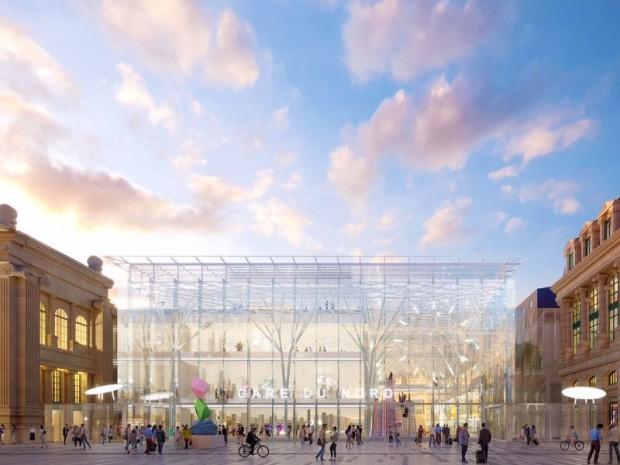 Projet réaménagement Gare du Nord