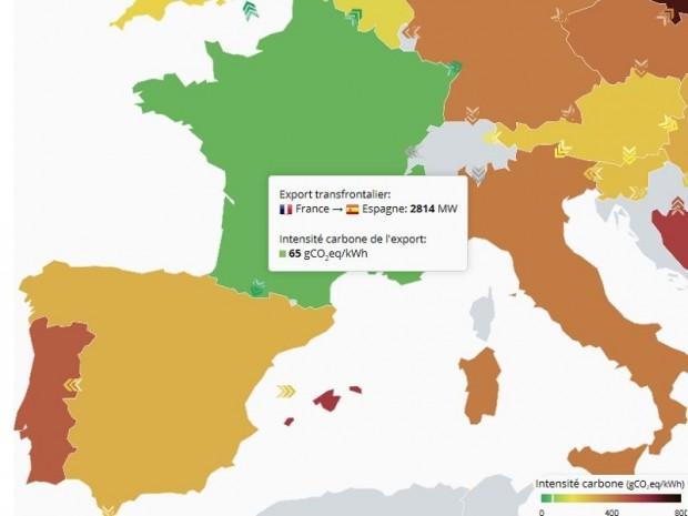 Echanges frontaliers électricité