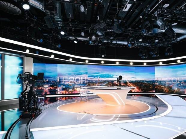 Plateau du journal télévisé