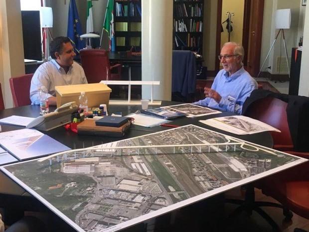"""Renzo Piano """"offre"""" un pont à Gênes pour ..."""