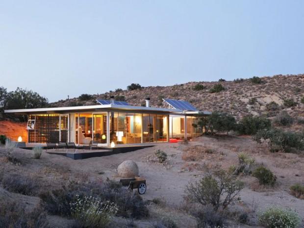 Off-grid itHouse par Taalman Koch - Pioneertown, C