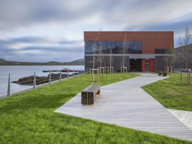 Aire industrielle d'Holmen, Norvège