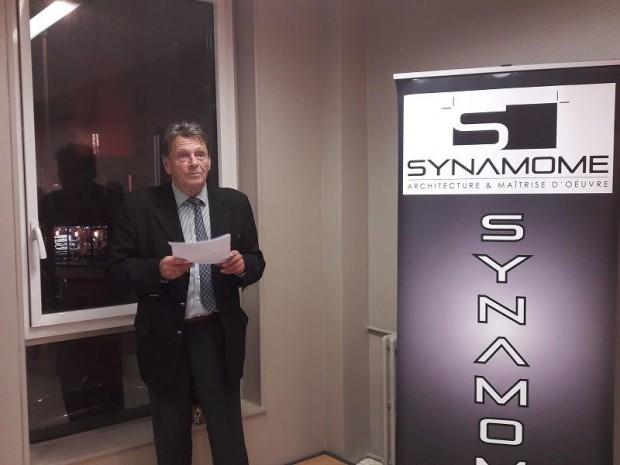 Claude Dufour, président du Synamome