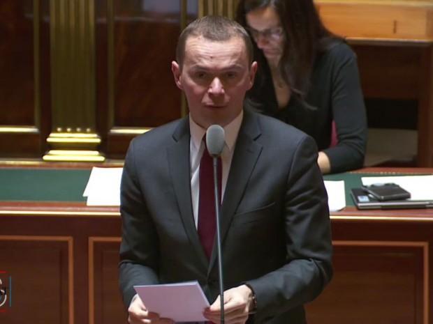 Olivier Dussopt, secrétaire d'Etat