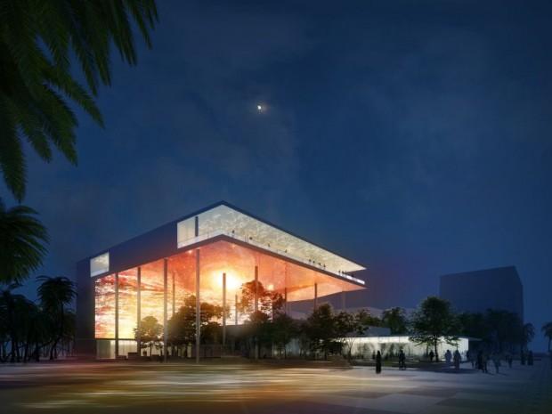 Pavillon de France pour l'exposition universelle de Dubaï