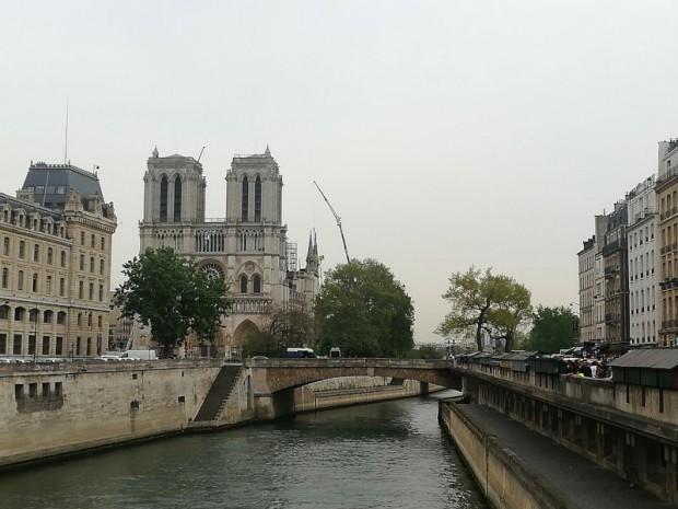 Notre-Dame de Paris en chantier, 23 avril 2019
