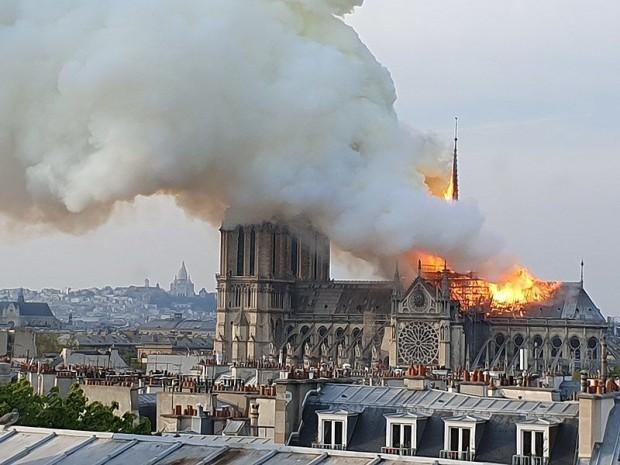 Incendie de la cathédrale Notre-Dame