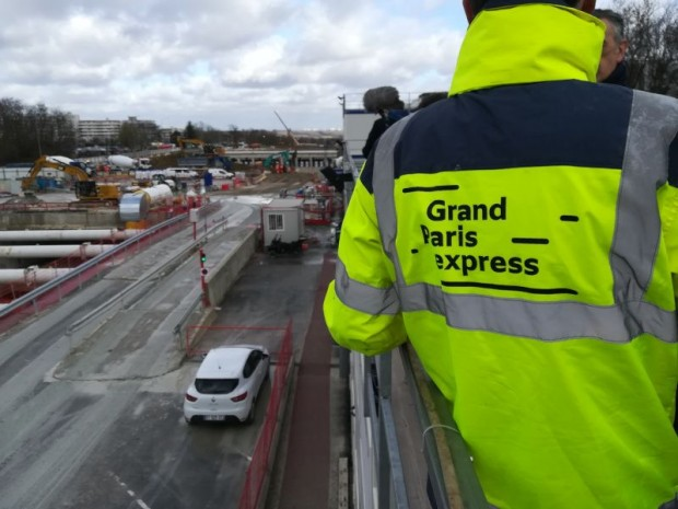 Chantier Grand Paris express