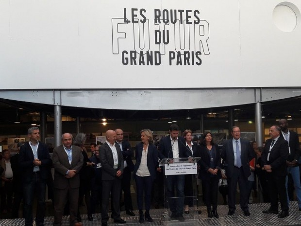 Les futures routes du Grand Paris inauguration