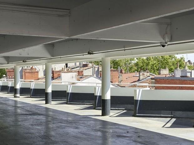 Le marché-parking de Toulouse