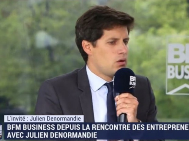 Le ministre J. Denormandie sur BFM Business