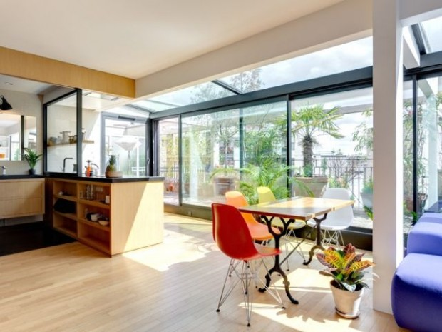 Un appartement rénové dans le respect de l'environnement
