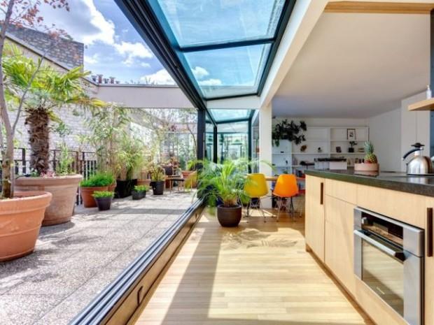 Une terrasse comme un petit coin de verdure