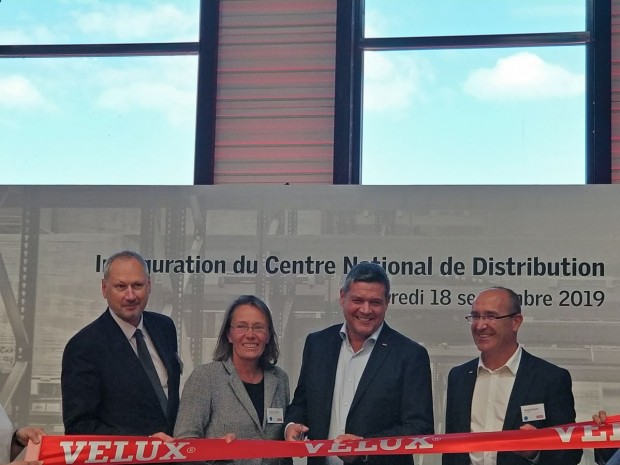 Le centre national de distribution de Velux France