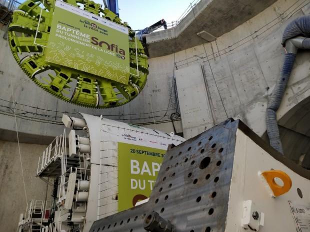 Le montage du tunnelier durera 3 mois
