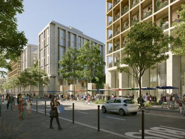 La future Porte de Montreuil