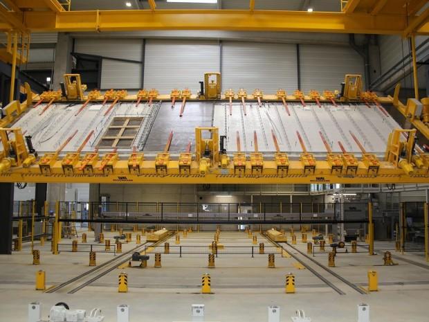 Usine de fabrication de prémurs KP1 à Vernouillet