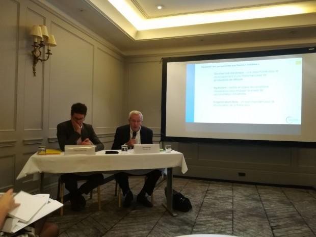 Conférence de presse du Syndicat des ENR