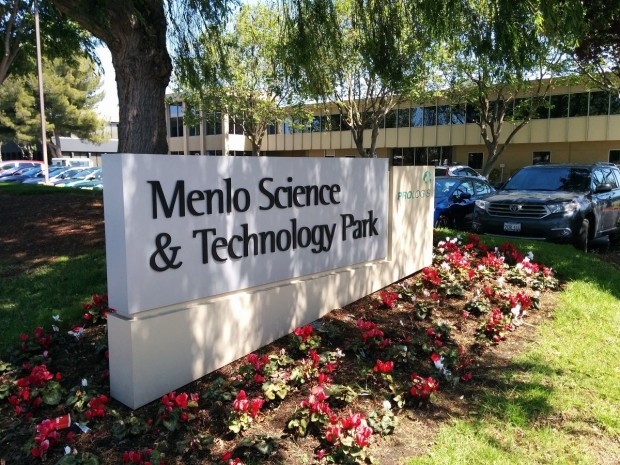 Menlo Science and Technology Park entrance