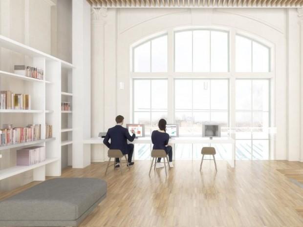 L'espace de coworking accueillera notamment de jeunes entrepreneurs à demeure.