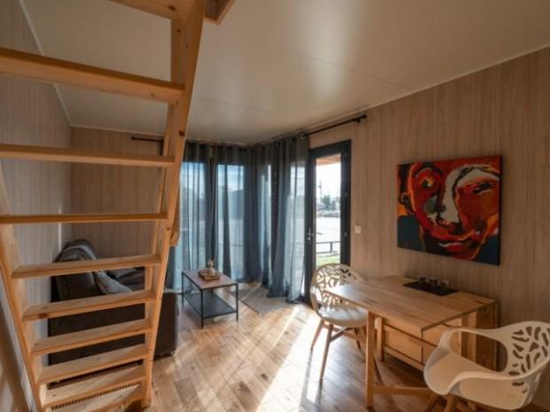 Une pièce à vivre tout confort pour un court séjour