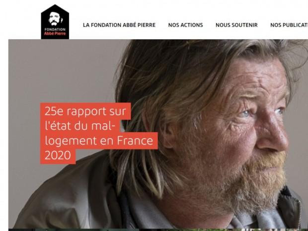 Rapport 2020 Abbé Pierre