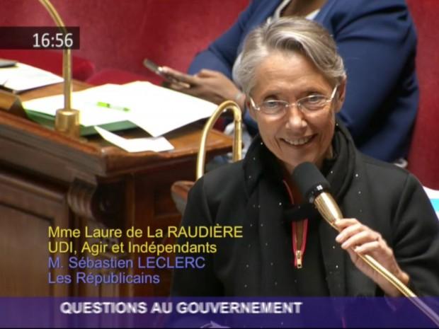 E. Borne, ministre de la Transition écologique