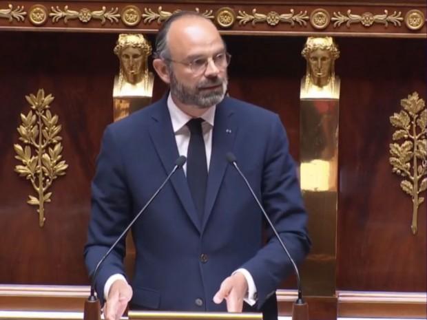 Edouard Philippe, le 28 avril 2020