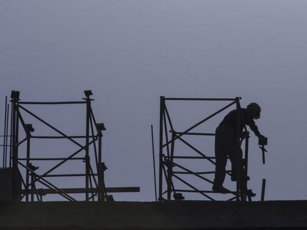 Salarié compagnon chantier ouvrier