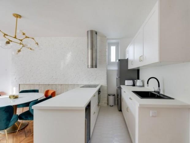 Une cuisine modernisée entièrement repensée
