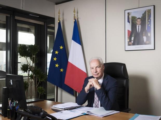 Alain Griset, ministre délégué aux PME