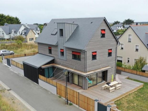 Une maison orientée par rapport au soleil