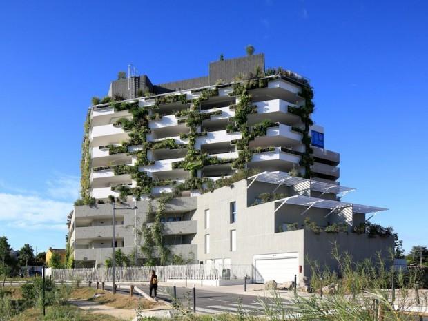 L'immeuble I-Park, à Montpellier