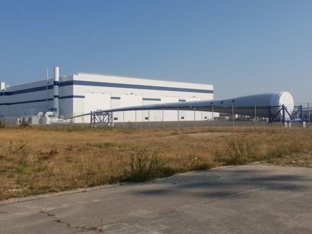 L'usine de pales pour éoliennes offshore de General Electric