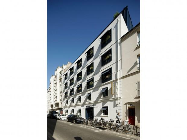 L'hôtel Wallace, dans le XVème arrondissement parisien.