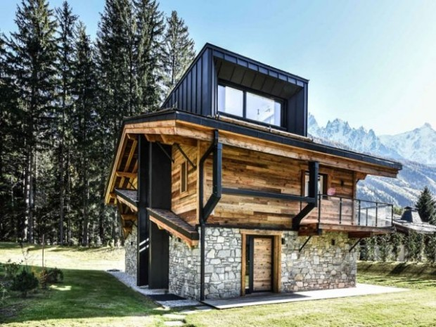 Un chalet traditionnel à l'esprit contemporain