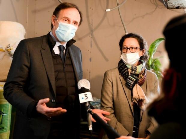 Olivier Sichel et Emmanuelle Wargon