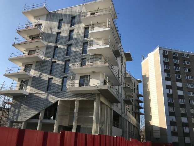 Logements en construction