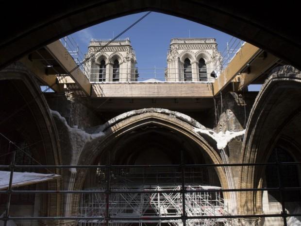 Croisée du transept de Notre-Dame de Paris