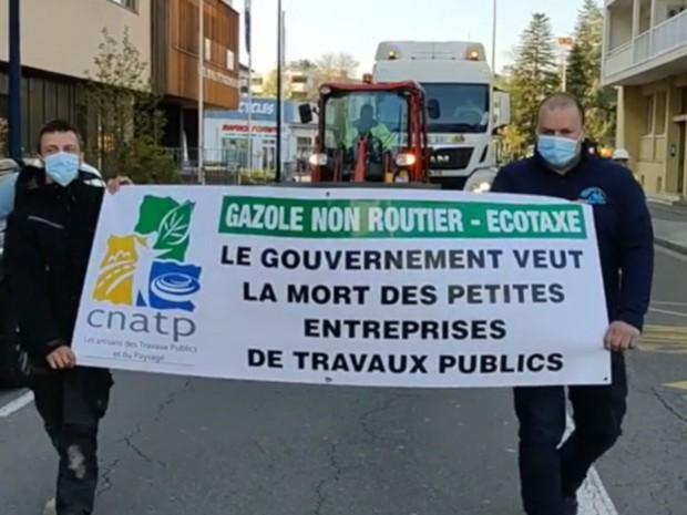 Manifestation CNATP Jura GNR